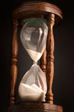 стеклянный отметчик времени часа Стоковые Изображения RF