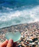 Стеклянный пляж Стоковое Изображение RF