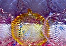 Стеклянный сделанный фотоснимок объекта комплекта обедающего стоковые фотографии rf