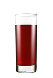 стеклянный сок виноградины Стоковые Фото