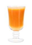 стеклянный сок померанцовый определяет Стоковое фото RF
