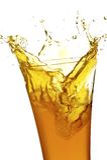 стеклянный сок Стоковое фото RF