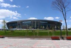 стеклянный стадион металла Стоковое Изображение