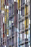 Стеклянный стальной фасад Стоковое Изображение RF