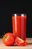 стеклянный томат сока Стоковые Изображения RF