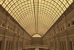 Стеклянный торговый центр купола Стоковое фото RF