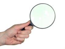стеклянный увеличивать Стоковая Фотография RF