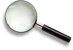 стеклянный увеличивать Стоковое фото RF