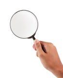 стеклянный увеличитель Стоковая Фотография RF
