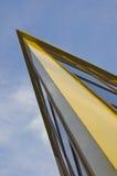 Стеклянный угол здания Стоковое Фото
