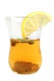 стеклянный чай зеленого цвета одного Стоковое фото RF