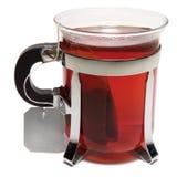 стеклянный чай стоковое изображение rf