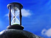 стеклянный час Стоковое Фото