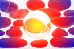 Стеклянный шарик Стоковое фото RF