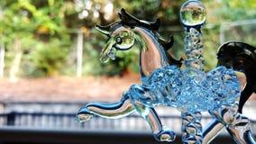 стеклянный carousel Стоковые Изображения
