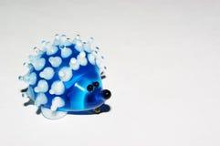 стеклянный hedgehog Стоковые Фотографии RF