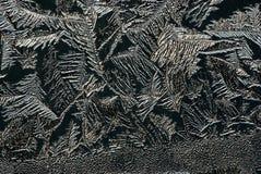 стеклянный hoarfrost стоковые изображения rf