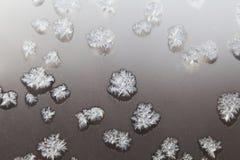 стеклянный hoarfrost стоковое фото rf