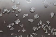 стеклянный hoarfrost стоковые изображения