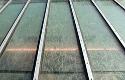 стеклянный skylight Стоковые Изображения RF