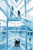 стеклянный stairway Стоковое Изображение