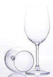 2 стекла вина Стоковые Изображения