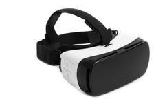 Стекла виртуальной реальности VR Изумлённые взгляды виртуальной реальности, изолированные дальше стоковое изображение rf