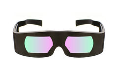 Стекла кино 3D Dolby Стоковые Изображения