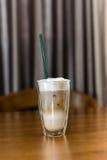 Стекла кофе молока Стоковое Изображение