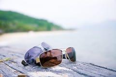 Стекла перед океаном Стоковая Фотография RF
