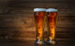 Стекла пива стоковые фото