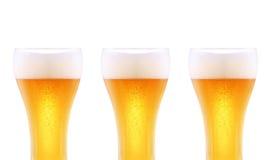 стекла пива 3 Стоковая Фотография RF