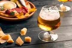 стекла пива 2 Стоковое Изображение