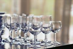 Стекла различных пить Стоковое Изображение