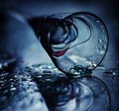 Стекла спирта синь праздника Стоковое фото RF