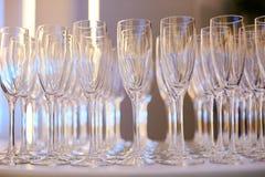 стекла спиртных пить установили Стоковое фото RF