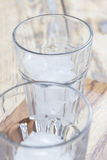 2 стекла с кубами льда Стоковое Изображение RF