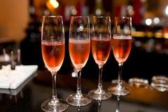 Стекла Шампани Стоковое Фото