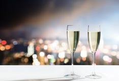 Стекла Шампани Стоковые Изображения