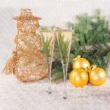 Стекла шампанского вина Стоковая Фотография RF