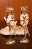 2 стекла шампанского Стоковые Фотографии RF