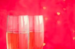 стекла 2 шампанского Стоковое Изображение RF