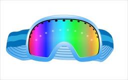 Стекла лыжи вектора Стоковые Изображения
