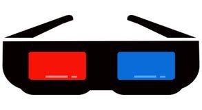 стекла 3d Стоковые Изображения