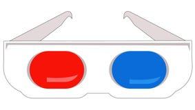 стекла 3d Стоковое Изображение RF