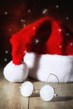 Стекла Santas Стоковые Фотографии RF