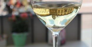 Стекло белого вина Стоковые Изображения RF