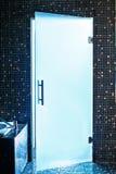 стекло двери самомоднейшее Стоковое фото RF