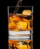 Стекло вискиа Стоковое фото RF