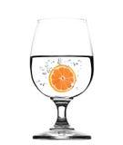 Стекло воды с грейпфрутом - концепцией Стоковые Изображения